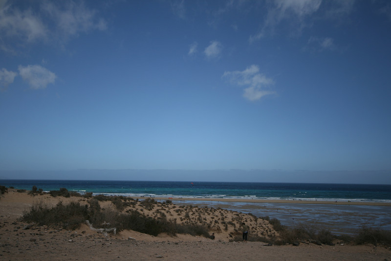 one of the windsurfing beaches