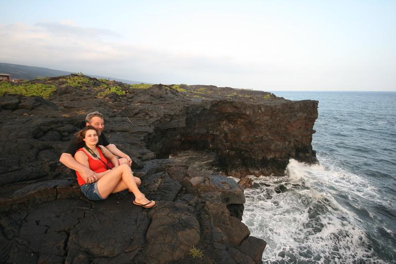 natural lava arch