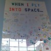 when i fly into space...