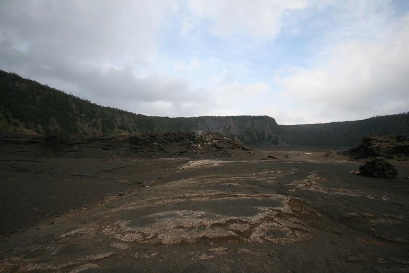 Kilauea Iki crater at Volcanoes National Park