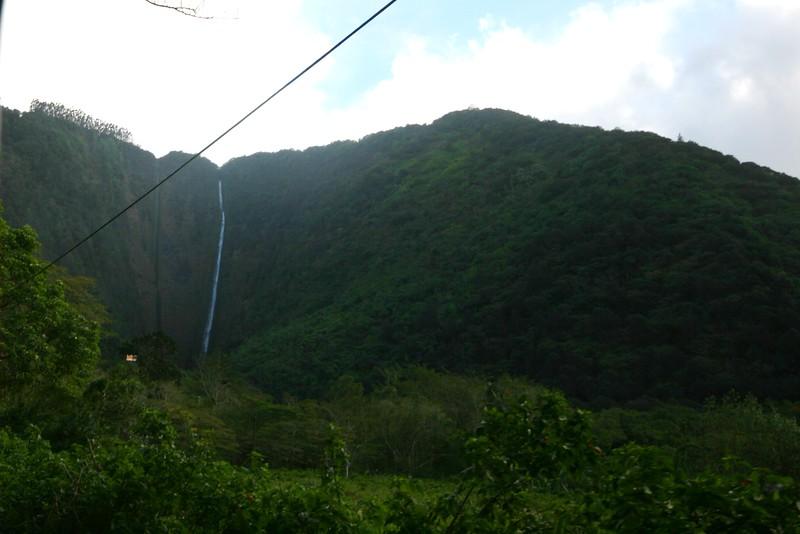 waterfall in the waipio valley