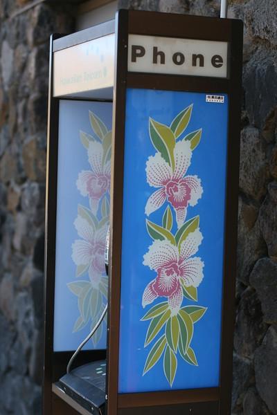 hawaiian phone booths