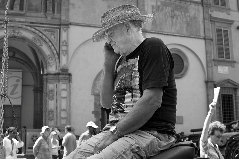 Carriage Driver Outside of Duomo