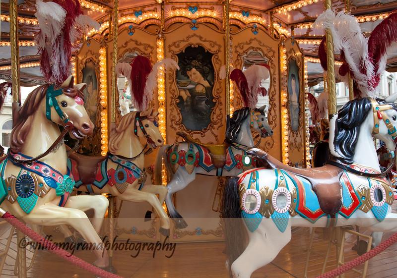 Carousel in Piazza Repubblica