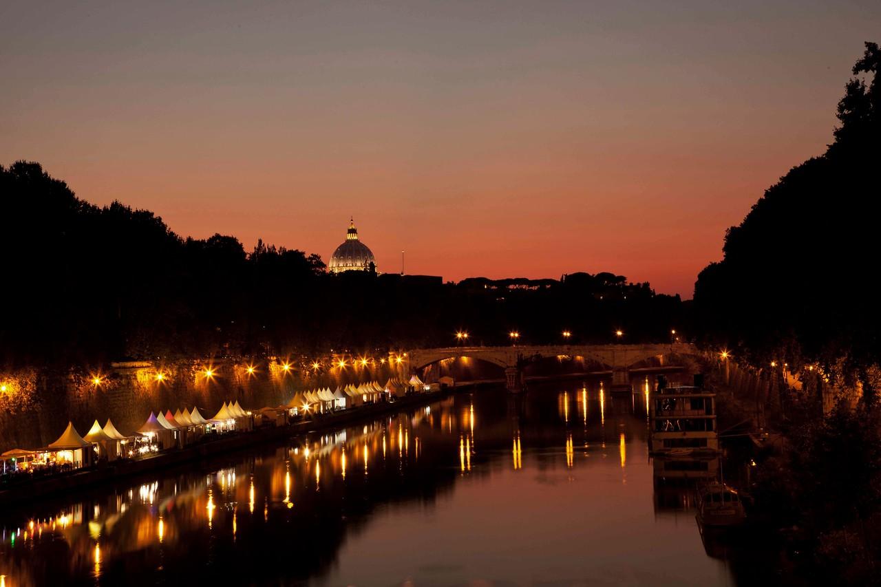 St. Pietro from Ponte Sisto