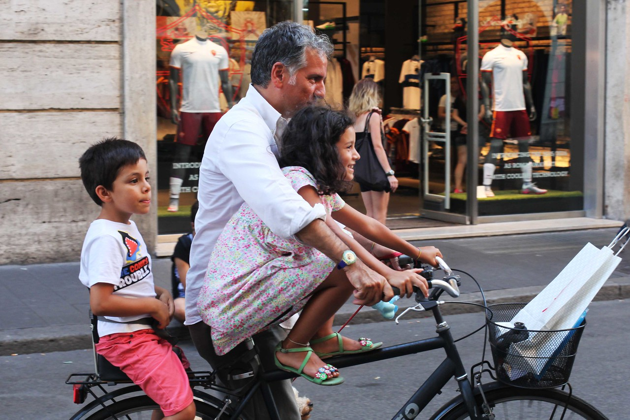 Learning to Ride a Bike, Roma