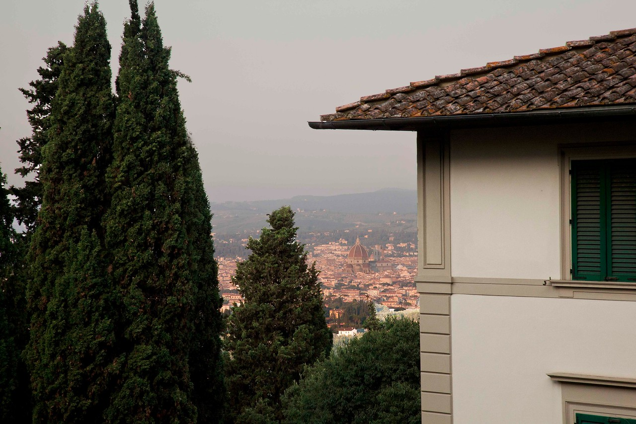 View of Duomo in Distance from Villa Fiesole