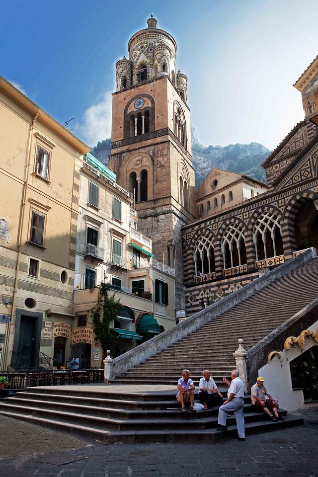 Early Morning Conversation, Amalfi