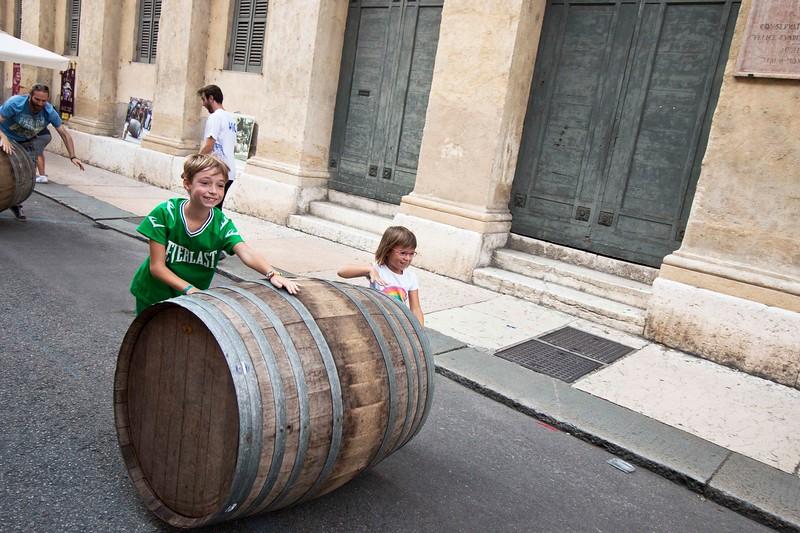 Barrel Roll, Street Festival, Verona