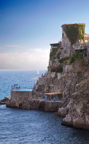 Pool at Hotel Luna Convento, Amalfi
