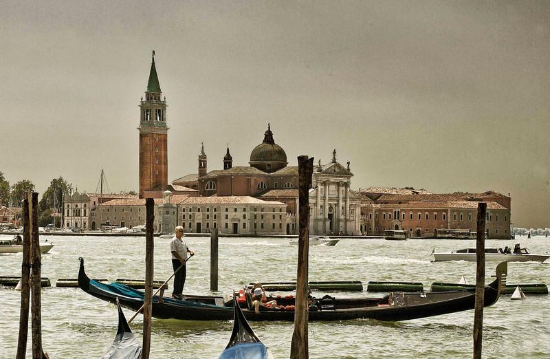 View of San Giorgio Island, Venice
