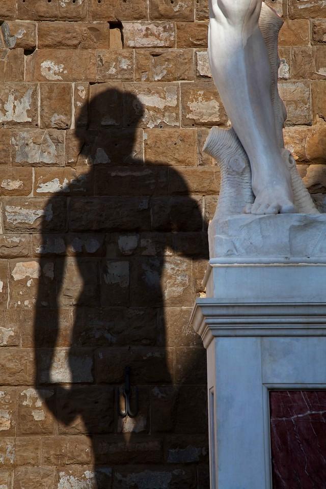 David's Shadow, Florence