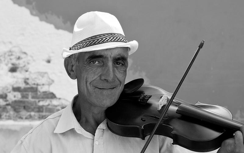 Street Musician, Dorsoduro Island, Venice