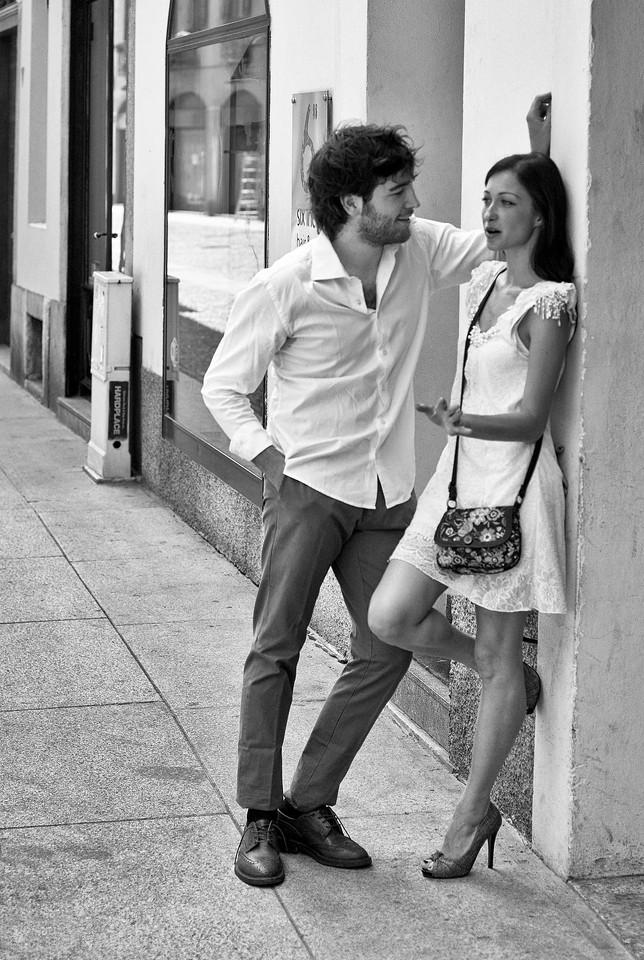 Flirtation, Brera, Milan