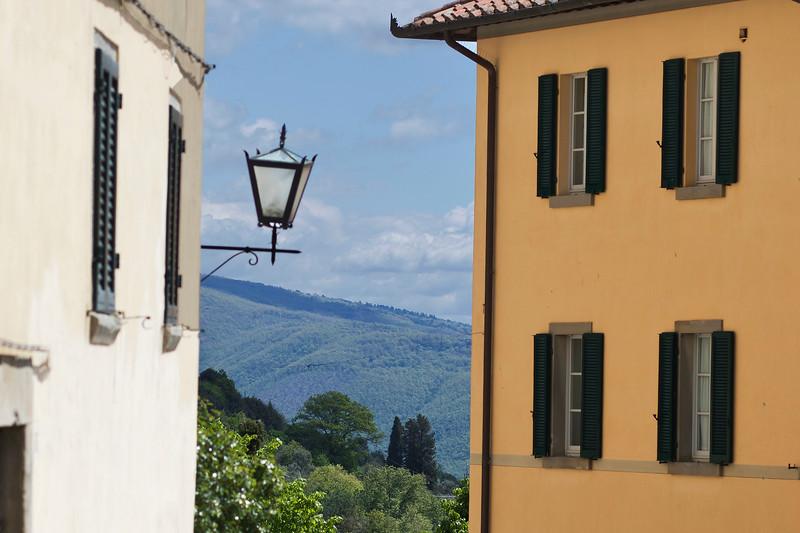 View from Cortona Street