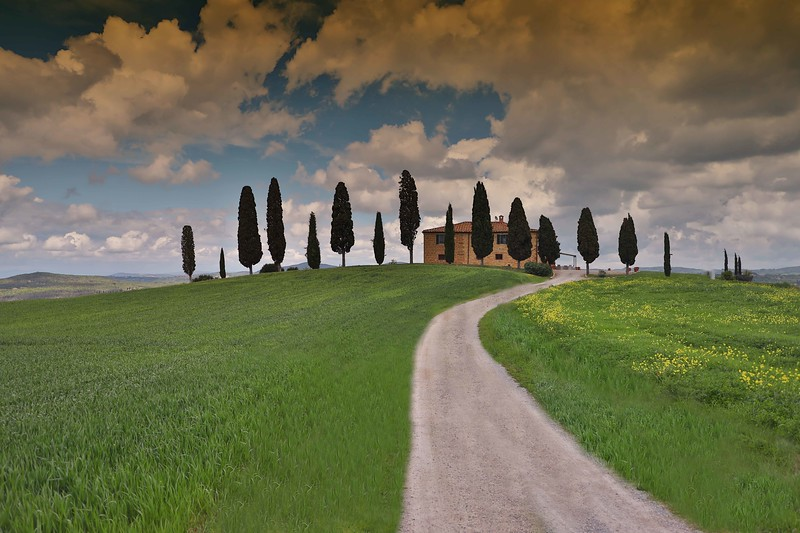House in Val D'Orcia