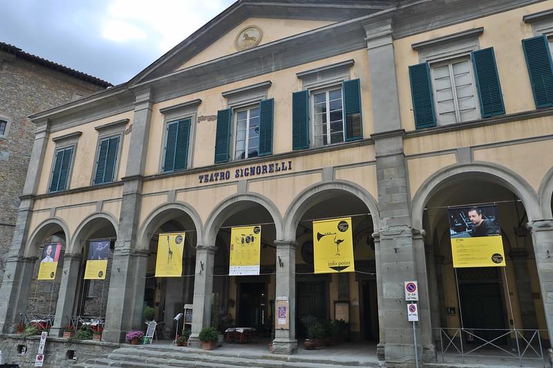 Teatro Signorelli, Piazza Signorelli, Cortona