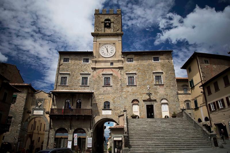 Palazzo del Comune (City Hall), Piazza Della Repubblica, Cortona