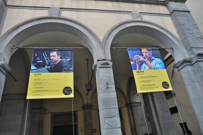 Cortona Jazz Festival 2019 at Teatro Signorelli, with Andre Fernandes Quintet