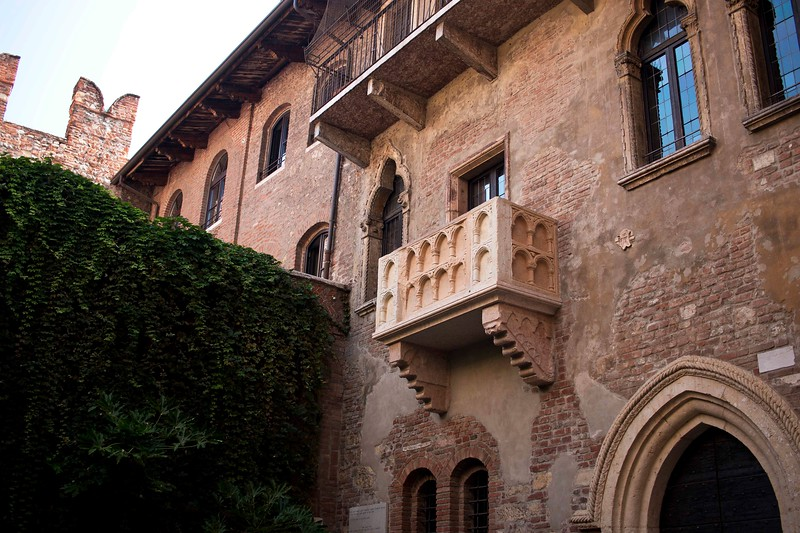 Of course--Juliet's Balcony
