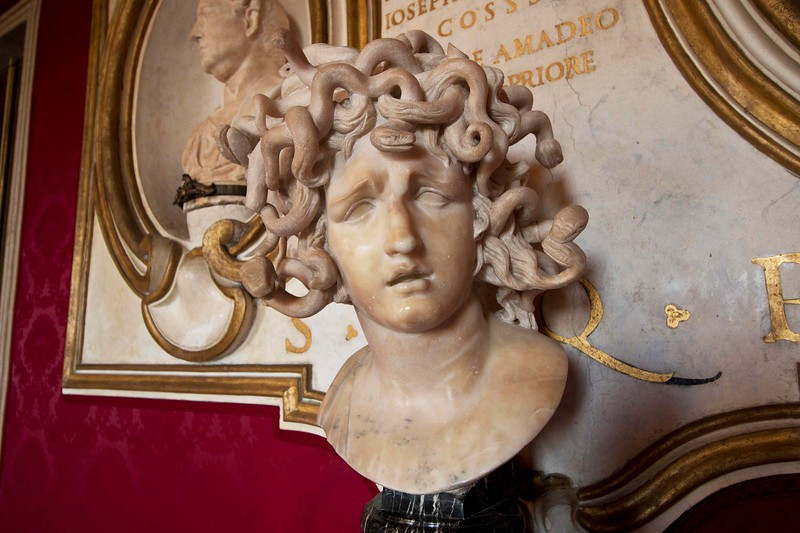 Gian Lorenzo Bernini's Sculpture of Medusa in the Capitoline Museum