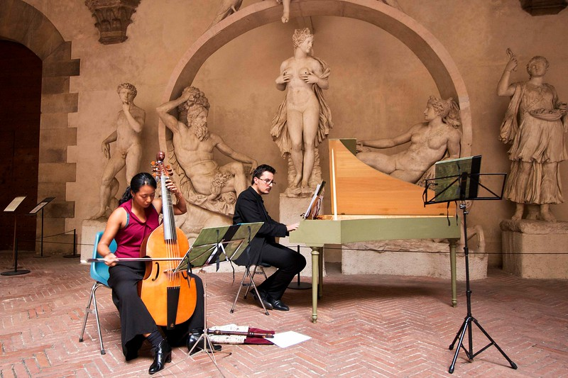 Classical Concert at the Borgello Museum, Florence