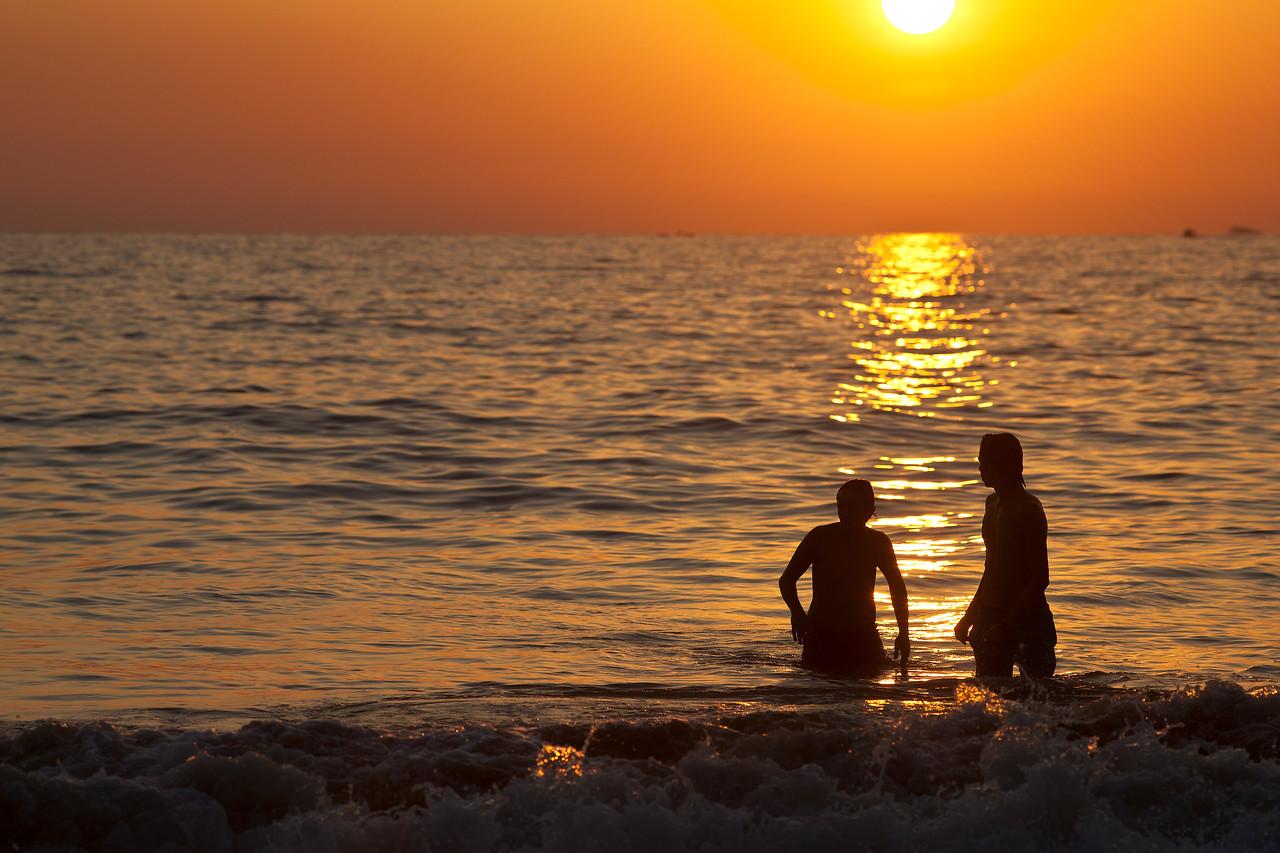 Sunset Silouettes II
