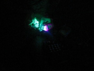 jimmie playing his led bugs