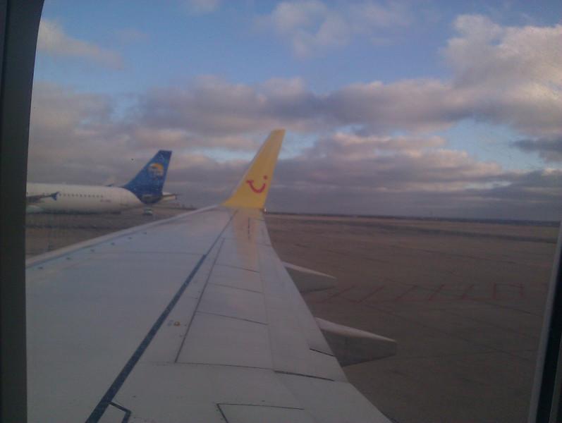 flying out of fuerteventura
