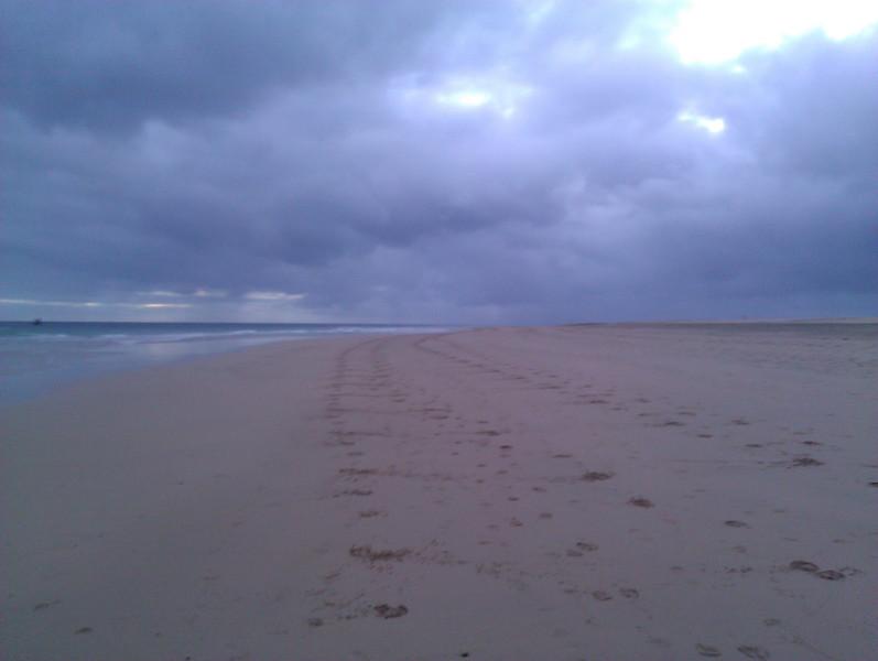 still running on playa de jandia