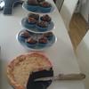"vegan german chocolate cupcakes and vegan strawberry ""cheese""cake"