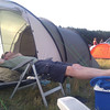 skytee after building up the tent on day0 at nationofgondwana