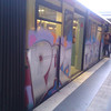 some moar decorated sbahn in traffic