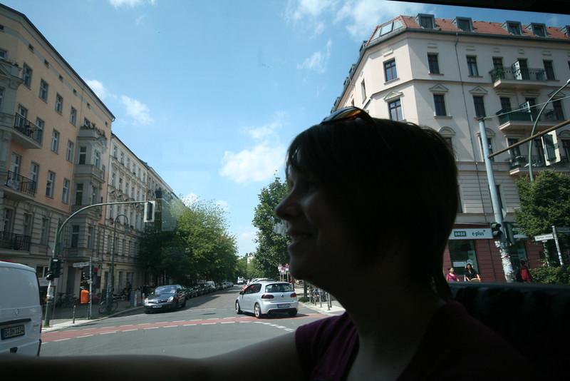 woz in the strassenbahn