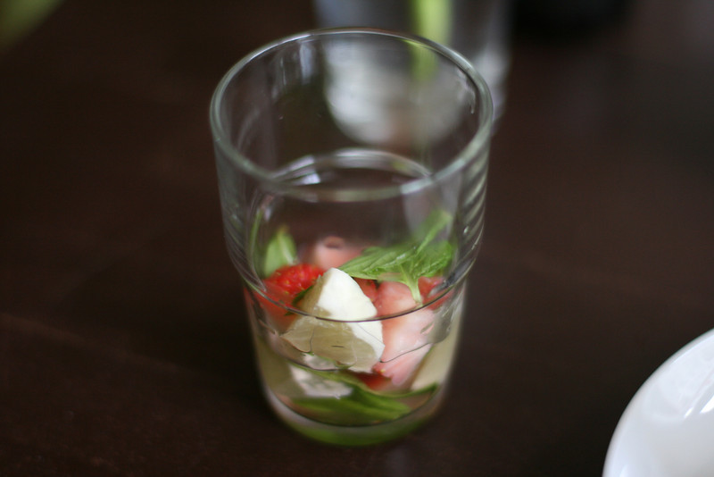 strawberry mint lemon water