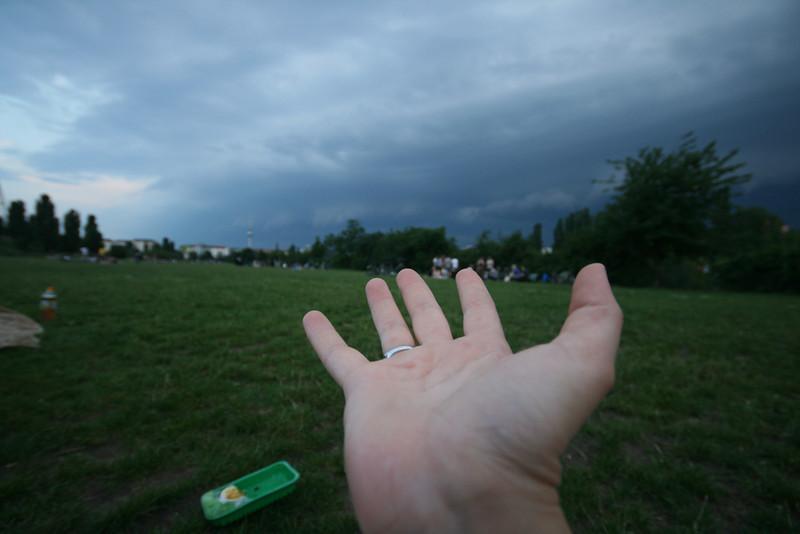 storm hand
