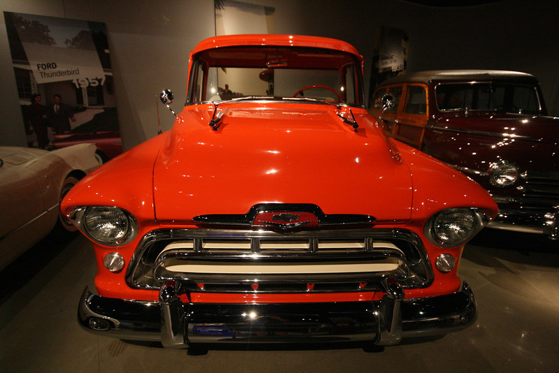 1957 chevy cameo from the front