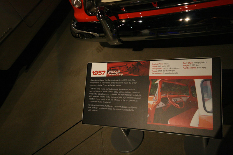 1957 chevy cameo description