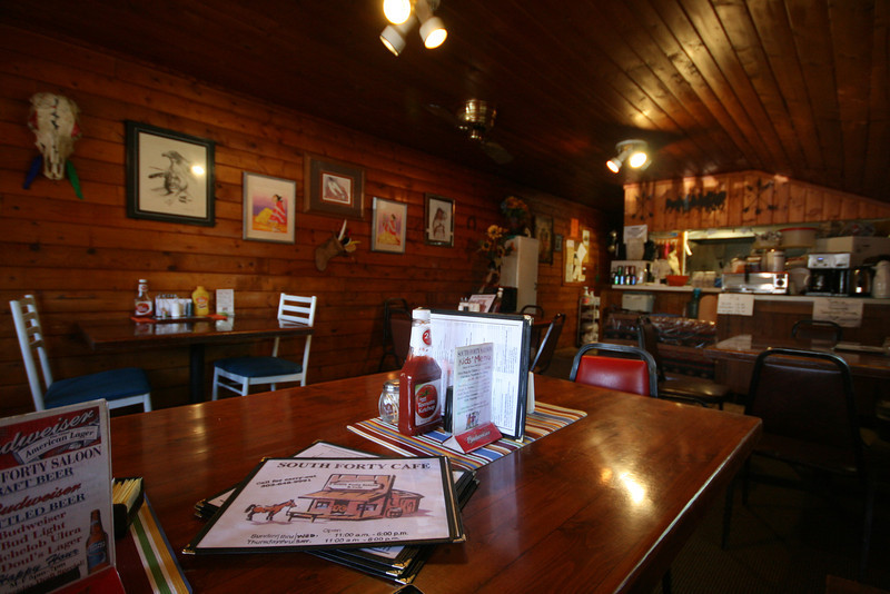The South Forty Cafe and Saloon in Elbert, CO