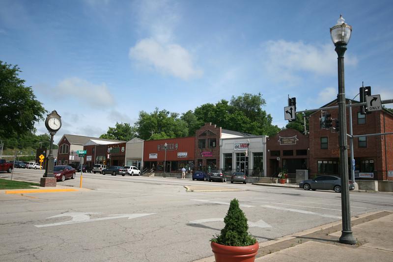downtown Waynesville, MO