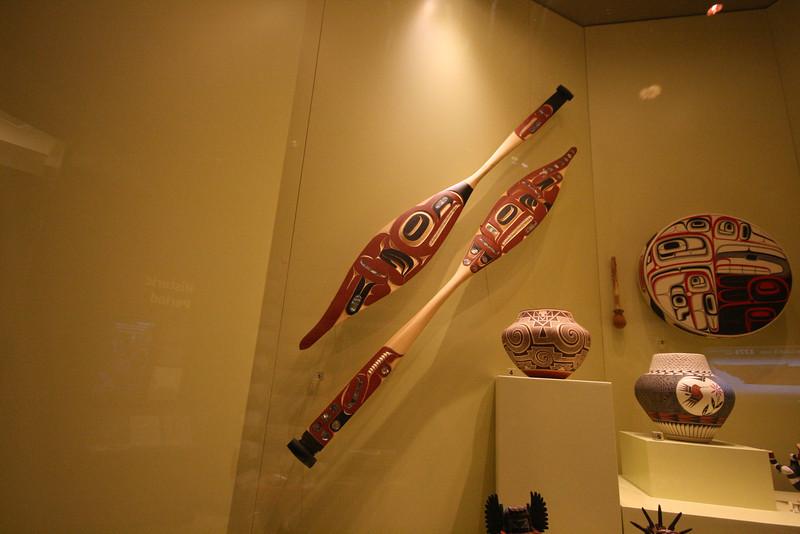 nootka canoe paddles