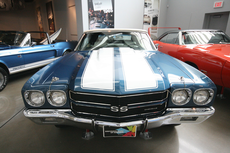1970 Chevrolet Chevelle SS 396 at Discovery Park of America in Union City, TN