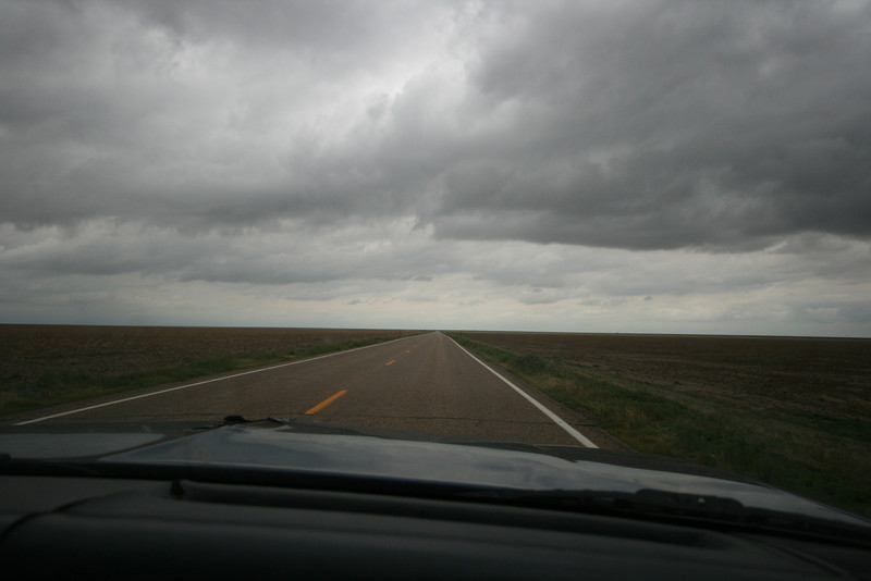 the western half of Kansas