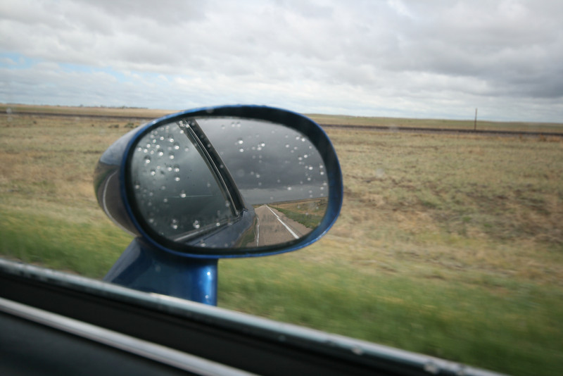 escaping tornadoes on the flatland of eastern Colorado