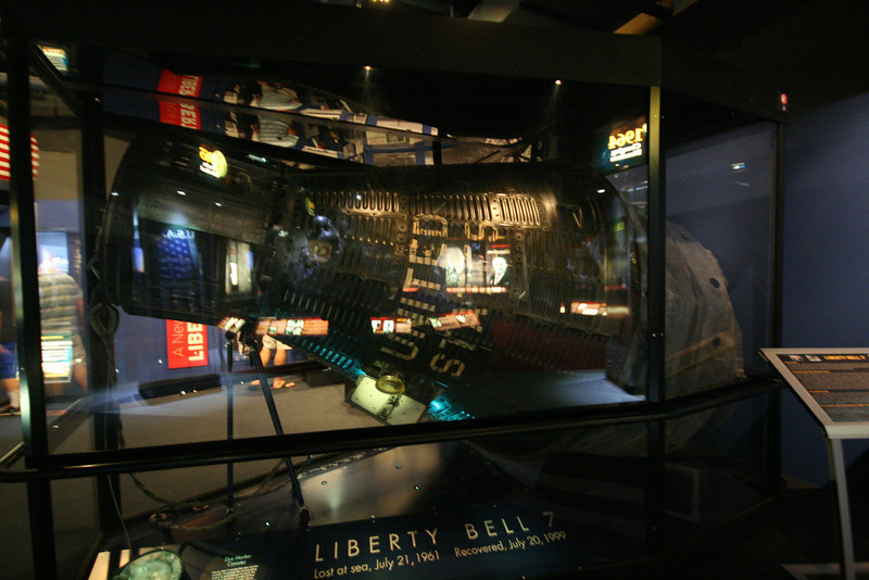 Liberty Bell, space flown and recovered from the ocean