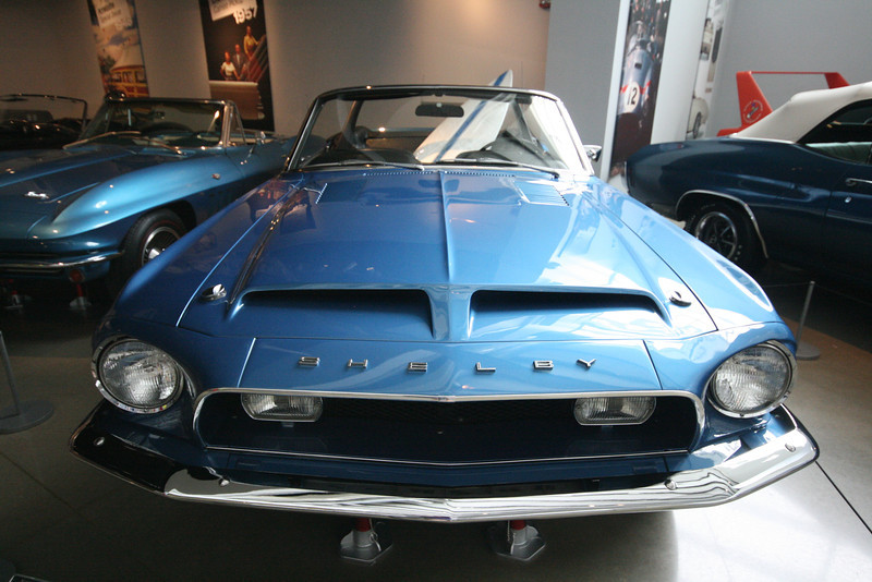 1968 Ford Shelby Mustang GT-500KR from the front
