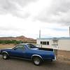 an ex gas station (near Dewey Bridge on Hwy 128 in Utah)
