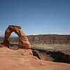 Delicate Arch in the afternoon