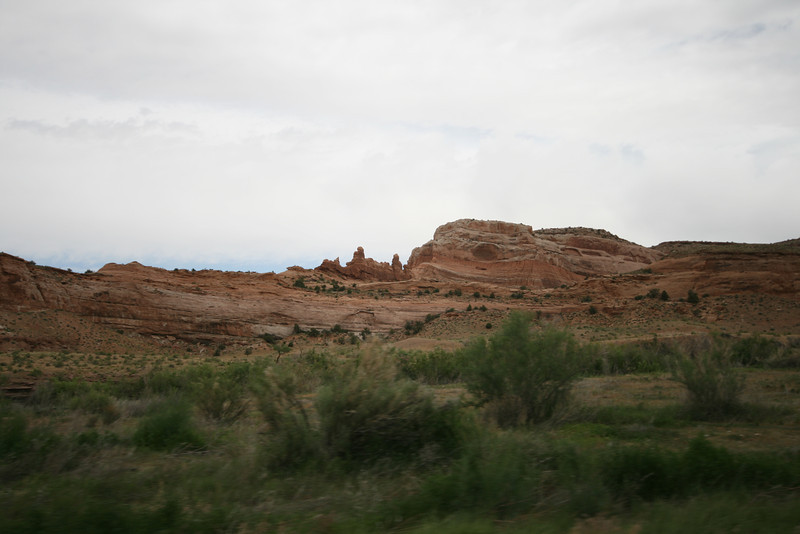 rock formations seen from hwy 128