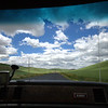 driving through the windoze xp desktop in the el camino
